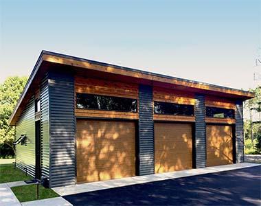 COMFERR s.r.o., Montovaná garáž