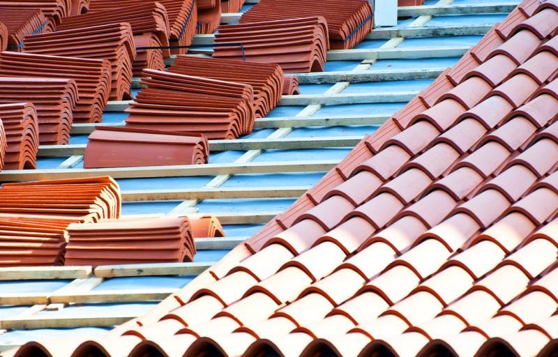 Strecha, skladba šikmej strechy