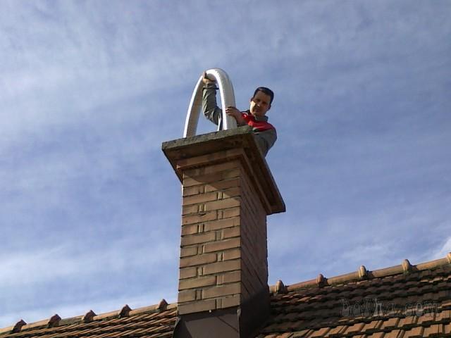 Sanácia komínov, oprava komínov