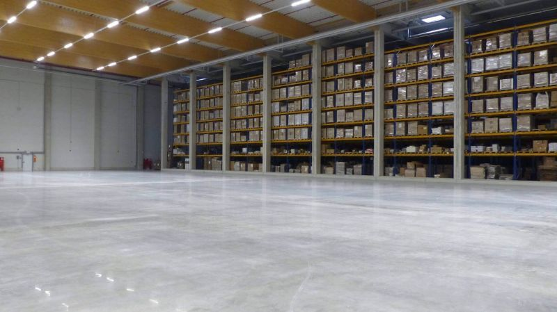 Podlahové krytiny pre potravinársky priemysel