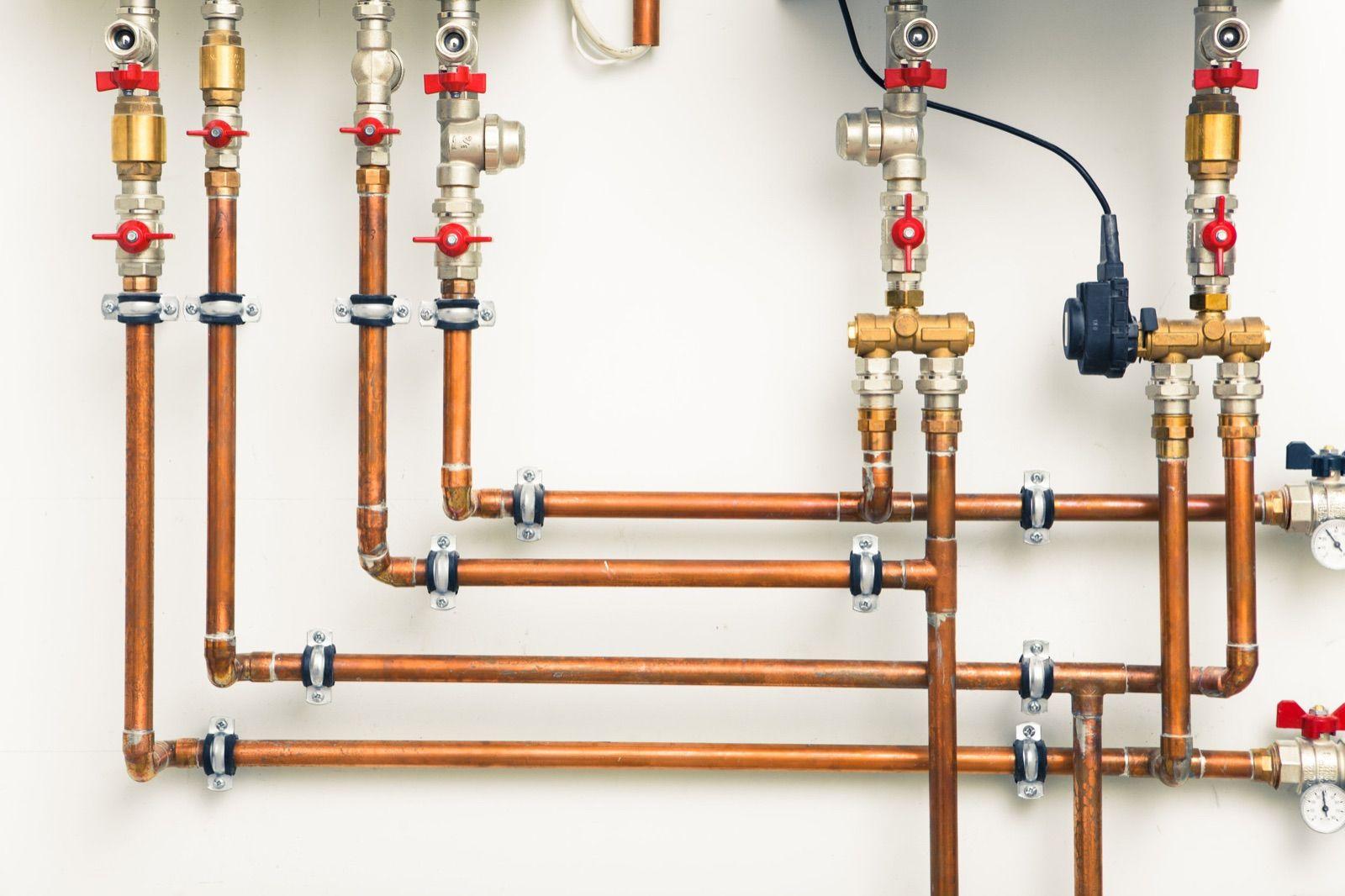 Vodovodné potrubie a vodomer